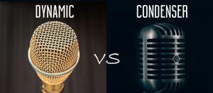 Microphone Condenser vs Microphone Dynamic