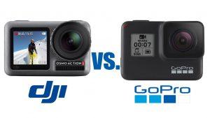 Kamera DJI Osmo vs GoPro Hero 7